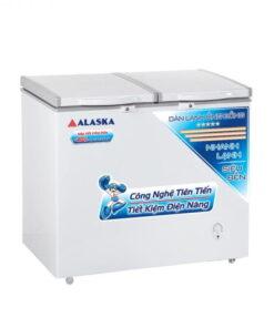 Tủ đông 2 ngăn 250l Alaska 3068C