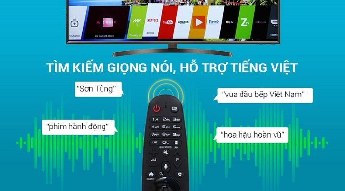Remote thông minh của Smart Tivi LG 49UK6340PTF-4
