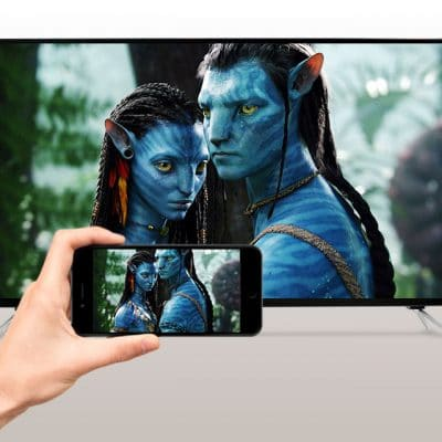 Chia sẻ hình ảnh từ điện thoại lên Tivi UBC