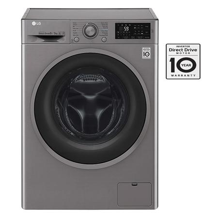 Máy giặt sấy LG lồng ngang 9kg/5kg FC1409D4E Inverter Direct Drive