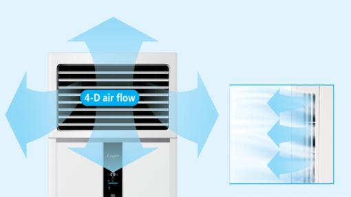 Dàn lạnh điều hòa tủ đứng 1 chiều Casper FC-48TL11/22 48000BTU