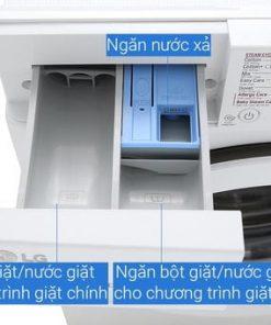 Máy giặt LG lồng ngang 8kg FC1408S5W Inverter Direct Drive