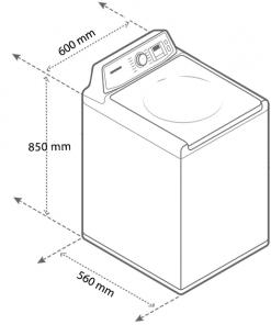Máy giặt sấy LG lồng ngang 8kg/5kg FC1408D4W Inverter Direct Drive